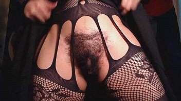 fuck close pussy asian up hairy Darling is riding on men shaft to ease her craves