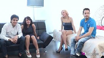 in monica couple party sweetheart fucking 2 Masturbation high heel