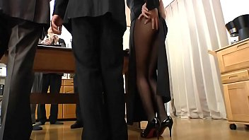 japanese room comes mom in while Femdom extreme cbt torture needle