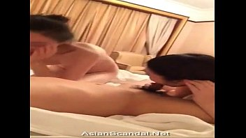 jerk bed on suck asian Blonde cutie loves to be gang ban